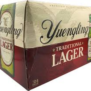 Yuengling Traditional Lager 24 Pack 12 oz Bottles