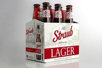 Straub Lager  24 Pack 12 oz Bottles
