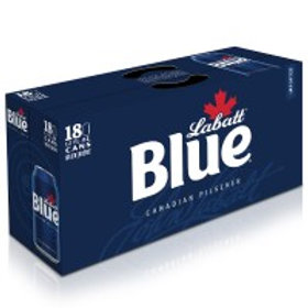 LaBatt Blue 18 Pack 12 oz Cans