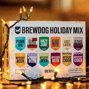 Brew Dog Holiday Variety Pack 12 Pack 12 oz Cans