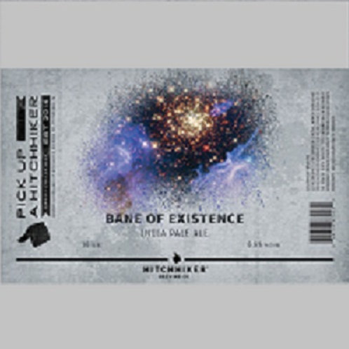 Hitchhiker Bane of Existence IPA  4 Pack 16 oz Cans