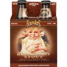 Founders Breakfast Stout 4 Pack 12 oz Bottles