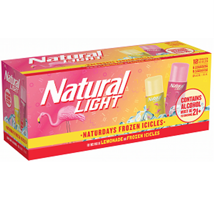 Natural Light Frozen Icicles, 12 Pack Box