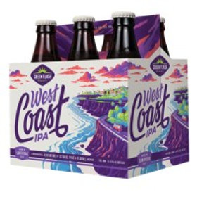 Green Flash West Coast IPA 6 Pack 12 oz Bottles