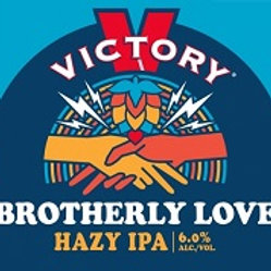 Victory Brotherly Love Hazy IPA 6 Pack 12 oz Cans