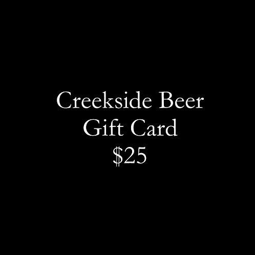 Creekside Gift Card - $25
