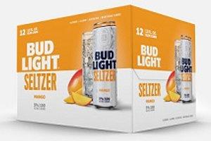 Bud Light Seltzer Mango 12 Pack 12 oz Cans