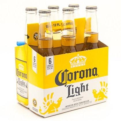 Corona Light 6 Pack 12 oz Bottles