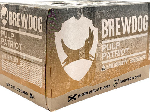 Brew Dog Pulp Patriot Milkshake IPA 6 Pack 12 oz Cans
