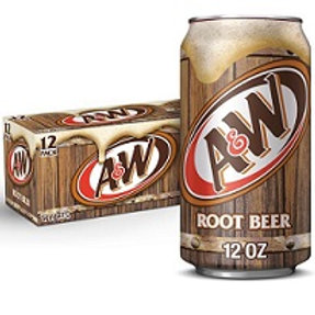 A&W Root Beer 12 Pack Cans