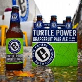 Evil Genius Turtle Power 6 Pack 12 oz Bottles