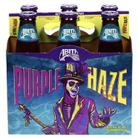 Abita Purple Haze Raspberry Lager 6 Pack 12 oz Bottles