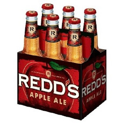 Redds Apple Ale 6 Pack 12 oz Bottles