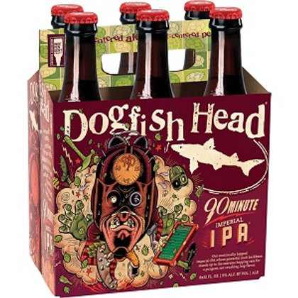 Dogfish 90 Minute IPA 6 Pack 12 oz Bottles