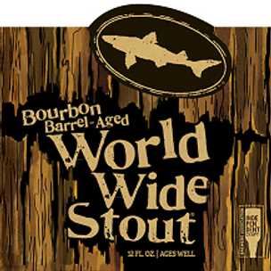 Dogfish Head Bourbon Barrel Worldwide Stout 4 Pack 12 oz Bottles