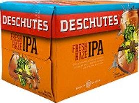 Deschutes Fresh Haze  6 Pack 12 oz Cans