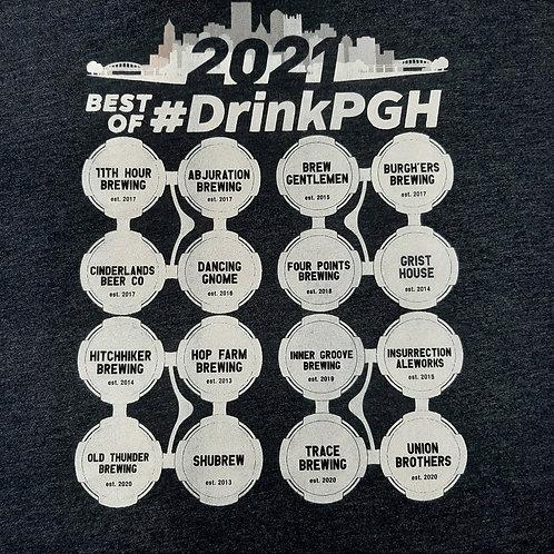 Creekside Beer 2021 #DrinkPGH Tee