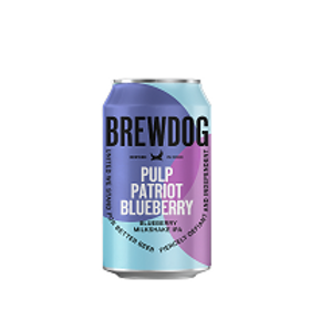Brew Dog Pulp Patriot Blueberry 6 Pack 12 oz Cans