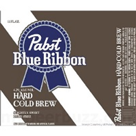 Pabst Cold Brew Hard Coffee 4 Pack 11.2 oz Cans