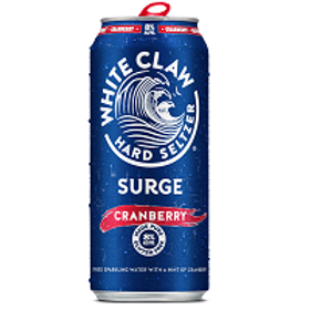 White Claw Surge Cranberry 4 Pack 16 oz Cans