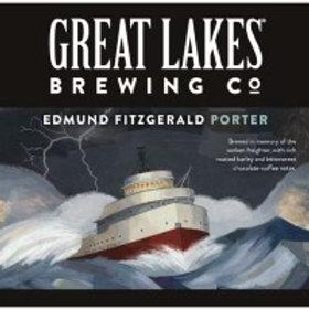 Great Lakes Edmund Fitzgerald 12 Pack 12 oz Bottles