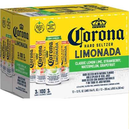 Corona Limonada Seltzer Variety 12 Pack 12 oz Cans