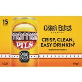 Oskar Blues Mamas Pils 15 Pack 12 oz Cans