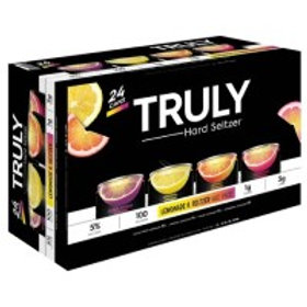 Truly Lemonade Variety 24 Pack 12 oz Cans