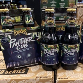 Founders Panther Cub 4 Pack 12 oz Bottles