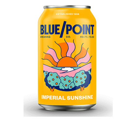 Blue Point Imperial Sunshine Blonde Ale 4 Pack 16 oz Cans