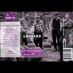 Logyard Gentlemen's Agreement 4 Pack 16 oz Cans