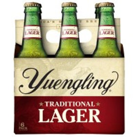 Yuengling Traditional Lager 6 Pack 12 oz Bottles