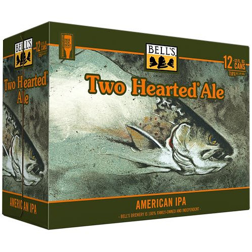 Bells Two Hearted Ale 12 Pack 12 oz Cans