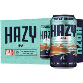 Great Divide Hazy IPA 6 Pack 12 oz Cans