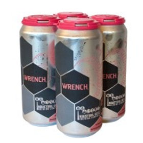 Industrial Arts Wrench NE IPA 4 Pack 16 oz Cans