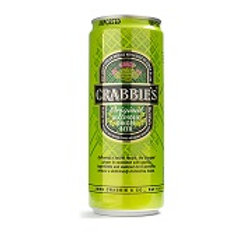 Crabbies Original Ginger Beer 8 Pack 11.2 oz Cans