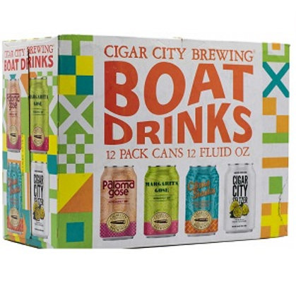 Cigar City Boat Drinks 12 Pack 12 oz Cans