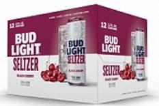Bud Light Seltzer Black Cherry 12 Pack 12 oz Cans