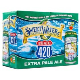 Sweetwater 420 12 Pack 12 oz Cans
