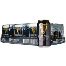 Guinness Draught 24 Pack 14.9 oz Cans