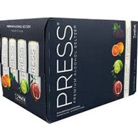 Press Seltzer Variety 12 Pack 12 oz Cans