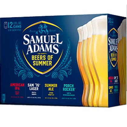 Sam Adams Summer Variety 12 Pack 12 oz Cans