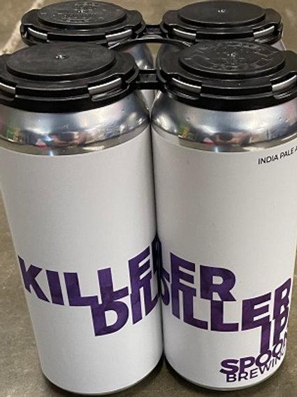 Spoonwood Killer Diller IPA 1 Pack 16 oz Cans