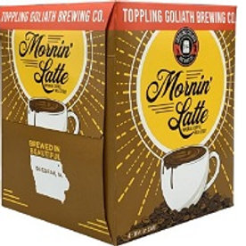 Toppling Goliath Morning Latte 4 pack 16 oz Cans