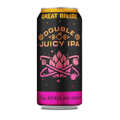 Great Divide Double Juicy IPA 6 Pack 12 oz Cans