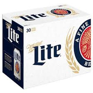 Miller Lite 30 Pack 12 oz Cans