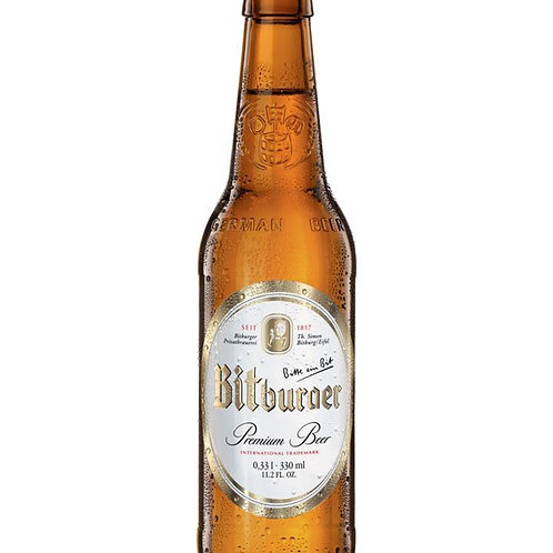 Bitburger 12 Pack 11.2 oz Bottles