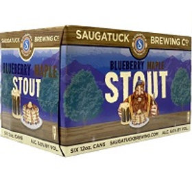 Saugatuck Blueberry Maple Stout 6 Pack 12 oz Cans