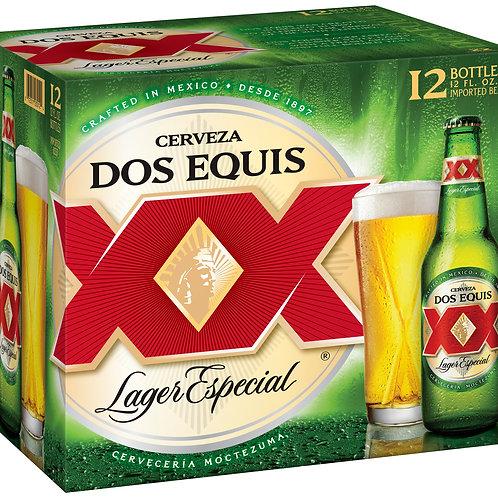 Dos Equis 12 Pack 12 oz Bottles
