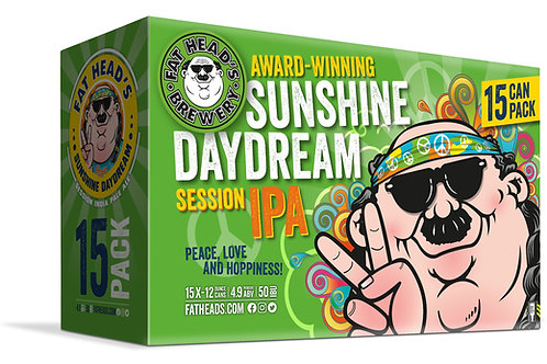 Fat Heads Sunshine Daydream 15 Pack 12 oz Cans